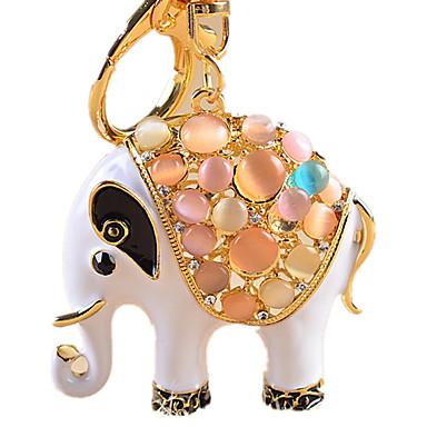 Μπρελόκ Νεωτερισμός Ελέφαντας Στρας Ψευδάργυρο κράμα Γιούνισεξ Παιχνίδια Δώρο