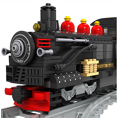 cheap Building Blocks-AUSINI Building Blocks Still Life Vehicles Train compatible Legoing Classic & Timeless Chic & Modern Fashion Train Toy Gift / Kid's