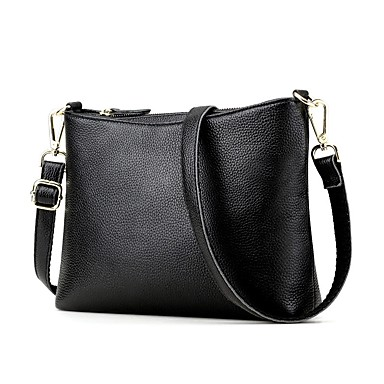 Women s Bags Cowhide Crossbody Bag Zipper for Wedding Event Party Casual  Formal Office   Career All Seasons Black Red Dark Blue 6305669 2019 –  74.99 f21ccb5a91ce5