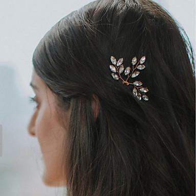 Perly   Křišťál Doplňky do vlasů   Spona do vlasů   Sponka do vlasů s  Květiny 1ks Svatební   Zvláštní příležitosti   Večírek Přílba 6316046 2019  –  1.99 87d8b04fc1