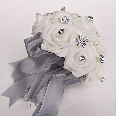 Λουλούδια Γάμου Μπουκέτα Γάμου Πολυεστέρας / Αφρός 9,84