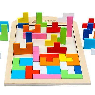 Tetris Τουβλάκια Νεκρή Φύση συμβατό Legoing Focus Παιχνίδι Κλασσικό Παιχνίδια Δώρο / Ξύλινος