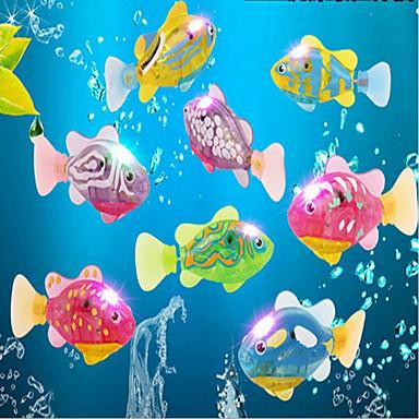 Ενυδρείο ψαριών Διακόσμηση Ενυδρείου Τεχνητό ψάρι Τυχαίο Χρώμα Cute 1 9*3.5 cm