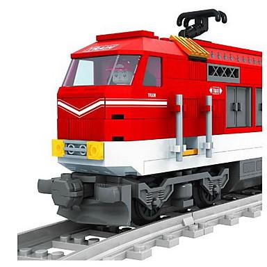 AUSINI Blocos de Construir 588 pcs Natureza Morta Veículos Cauda compatível Legoing Clássico Chique & Moderno Fashion Trem Para Meninos Para Meninas Brinquedos Dom