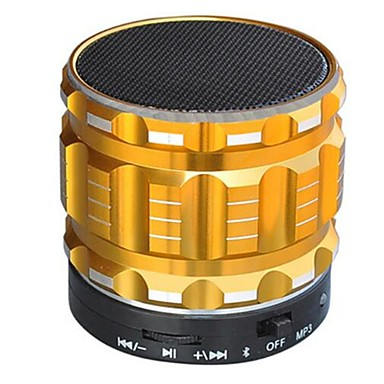 S22 Bluetooth Ενσωματωμένο Μικρόφωνο V4.0 3.5 χιλ AUX USD Subwoofer Χρυσό Μαύρο Ασημί Βυσσινί Μπλε Απαλό