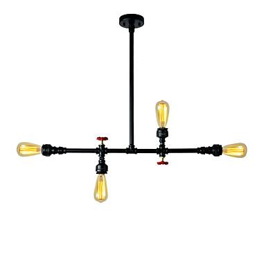 OYLYW 4-Light Κρεμαστά Φωτιστικά Ατμοσφαιρικός Φωτισμός Βαμμένα τελειώματα Μέταλλο Mini Style 110-120 V / 220-240 V Δεν συμπεριλαμβάνεται λαμπτήρας / E26 / E27