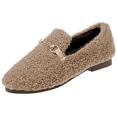 Mujer Zapatos Goma Invierno Confort Zapatos de taco bajo y Slip-On Dedo  redondo para Al aire libre Negro Gris Morrón Oscuro 6315466 2019 –  19.99 ab7536fa4b888
