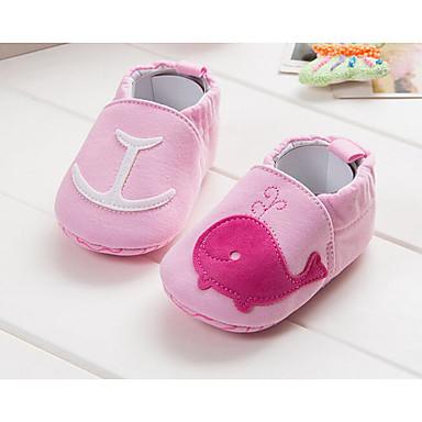 2a218e936 Bebê sapatos Courino Outono Inverno Conforto Primeiros Passos Tênis Para  Casual Amarelo Vermelho Azul Rosa claro Vinho de 6309313 2019 por  5.99