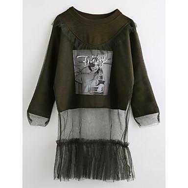 90b971cf9 Toddler Girls' Cartoon Long Sleeve Cotton Blouse Brown 2-3 Years(100cm)  6282056 2019 – $3.49