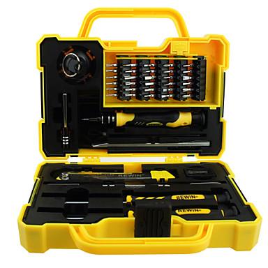 rewin® verktygs 43stk professionell elektrisk skruvmejsel som för hemma med hjälp av