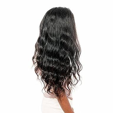 Remy Τρίχα 360 μετωπικής Περούκα στυλ Βραζιλιάνικη Κυματιστό 360 πρόσθια Περούκα 150% 180% Πυκνότητα μαλλιών με τα μαλλιά μωρών Φυσική γραμμή των μαλλιών Γυναικεία Κοντό Μεσαίο Μακρύ