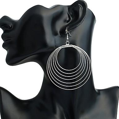 povoljno Modne naušnice-Žene Sitne naušnice Viseće naušnice Posude dame Personalized Moda Naušnice Jewelry Pink Za Stage Klub