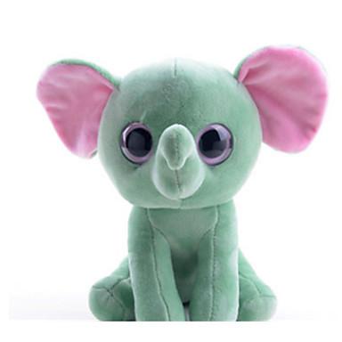voordelige Knuffels & Pluche dieren-Olifant Poppen Knuffels & Pluche dieren Schattig Plezier Meisjes Speeltjes Geschenk