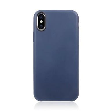 tok Για Apple iPhone X / iPhone 8 Plus / iPhone 8 Εξαιρετικά λεπτή Πίσω Κάλυμμα Μονόχρωμο Μαλακή TPU