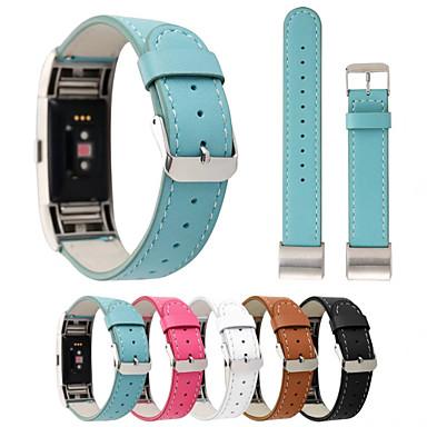 Pulseiras de Relógio para Fitbit Charge 2 Fitbit Fecho Clássico Couro Legitimo Tira de Pulso