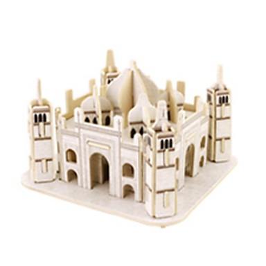 Παζλ 3D Kit de Construit Αρχιτεκτονική Διάσημο κτίριο Ξύλινος 1 pcs Παιδικά Παιχνίδια Δώρο