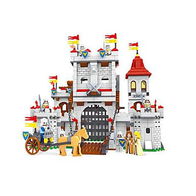 AUSINI Τουβλάκια Κατασκευασμένα Παιχνίδια Εκπαιδευτικό παιχνίδι 1118 pcs Αρχιτεκτονική Κάστρο συμβατό Legoing Αγορίστικα Κοριτσίστικα Παιχνίδια Δώρο