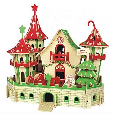 voordelige 3D-puzzels-3D-puzzels / Legpuzzel / Modelbouwsets Huizen / Mode / Kasteel Kinderen / Nieuw Design / Hot Sale Puinen 1 pcs Klassiek / Modern / Hedendaags / Modieus Kinderen Geschenk