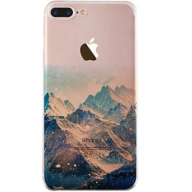fodral Till iPhone X iPhone 8 Ultratunt Genomskinlig Mönster Skal Landskap  Mjukt TPU för iPhone X iPhone 8 Plus iPhone 8 iPhone 7 Plus 6312918 2019 –   3.99 dbf627cec0f75