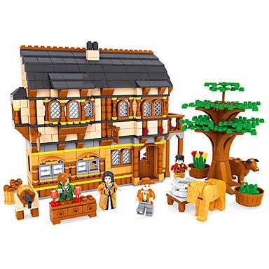 AUSINI Τουβλάκια Κατασκευασμένα Παιχνίδια Εκπαιδευτικό παιχνίδι 838 pcs Αρχιτεκτονική Νεκρή Φύση Έπιπλα συμβατό Legoing Κλασσικό & Διαχρονικό Κομψό & Μοντέρνο Μοντέρνα Αγορίστικα Κοριτσίστικα
