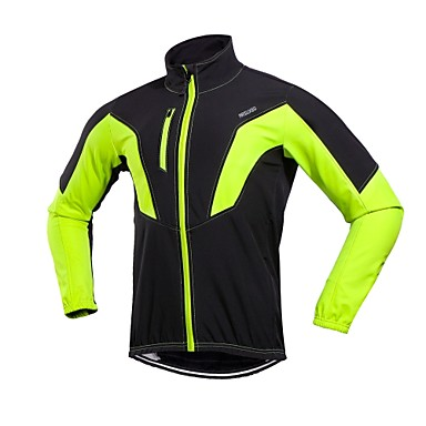 Arsuxeo Men s Cycling Jacket Bike Winter Jacket Windproof Sports Winter Red    Green   Blue Mountain Bike MTB Road Bike Cycling Clothing Apparel Relaxed  Fit ... 1d1bf6bcb