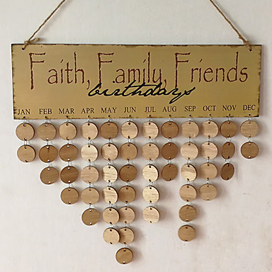 Special Occasion Eventparty Other Material Wooden Wedding