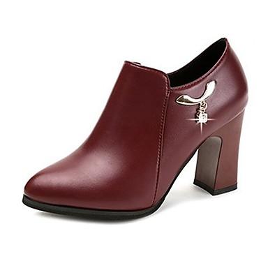 Zapatos de otoño con cremallera casual para mujer liSxEgn