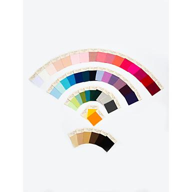 tkanina swatch jednu boju u 4 materijala
