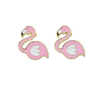 levne Dámské šperky-Dámské Visací náušnice Ptáček dámy Módní Cute Style Náušnice Šperky Růžová Pro Ležérní Rande