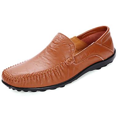 968beac139 Homens sapatos Borracha Outono Mocassim Mocassins e Slip-Ons Preto    Castanho Claro   Castanho Escuro de 6329550 2019 por  24.99