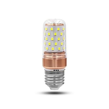 6 W LED Λάμπες Καλαμπόκι * 60 LED χάντρες Διακοσμητικό Άσπρο 85-265 V