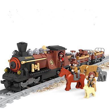 AUSINI Τουβλάκια Νεκρή Φύση / Οχήματα / Ουρά Ζώα Κλασσικό & Διαχρονικό / Κομψό & Μοντέρνο / Μοντέρνα Τρένο Δώρο