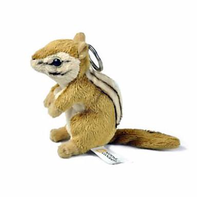 Porta-Chaves Esquilo Algodão puro Crianças Adulto Para Meninos Para Meninas Brinquedos Dom