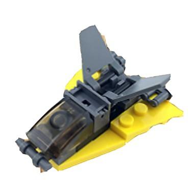 preiswerte Verriegelungsblöcke-Bausteine Flugzeug Flugzeug Weicher Kunststoff 1 pcs Kinder Jungen Spielzeuge Geschenk