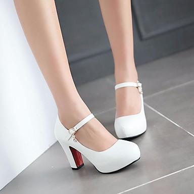 5050d71e457b1 Fille Chaussures Polyuréthane Automne De minuscules talons pour les ados  Chaussures à Talons pour Blanc   Noir   Beige de 6282799 2019 à  19.99