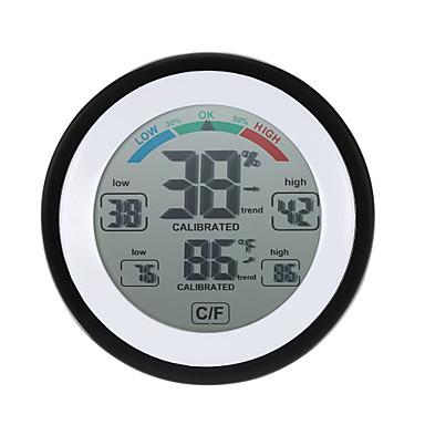 povoljno Pametni budilnik-visoke preciznosti mini elektronskim termometrom higrometar kućanskih kreativnih zatvoreni zidni psirograf