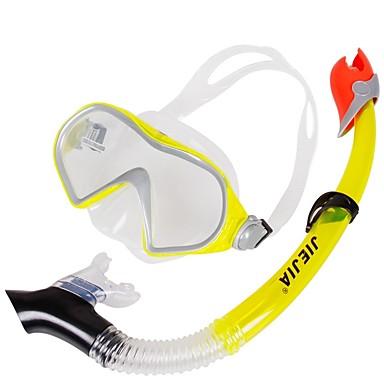 Πακέτα για Κολύμπι με Αναπνευστήρα Αδιάβροχη Δύο Παράθυρο - Καταδύσεις pet - Για Ενήλικες Κίτρινο / Κατά της ομίχλης / Στεγνή κορυφή