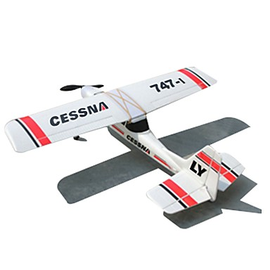 cheap RC Airplanes-RC Airplane 747-1 6CH 2.4G KM/H Some Assembly Required Brush Electric
