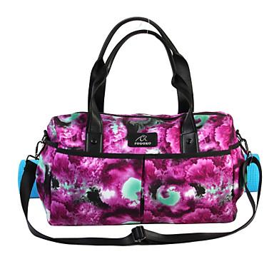 FODOKO 26 L Τσάντα για χαλάκι γιόγκα - Γιόγκα, Πιλάτες, Fitness Φοριέται Δερμάτινο, Νάιλον Βιολετί Ροζ, Πράσινο Ανοικτό