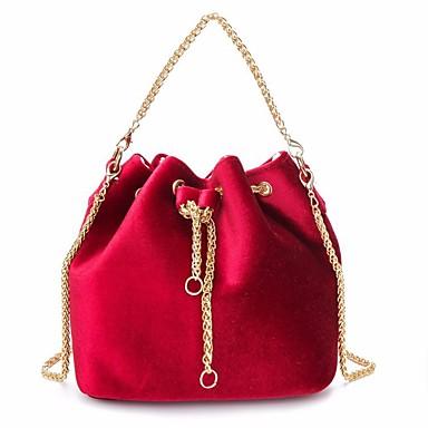Tote Rojo Terciopelo Mujer 2019 Verde Ligero 6335419 Oscuro Bolsos Bolsillo Gris wgxgIP