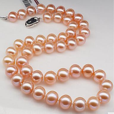 povoljno Modne ogrlice-Žene Biseri Choker oglice Biseri Obala Pink Ogrlice Jewelry Za Rođendan Dar Dnevno Voljeni Ured i karijera