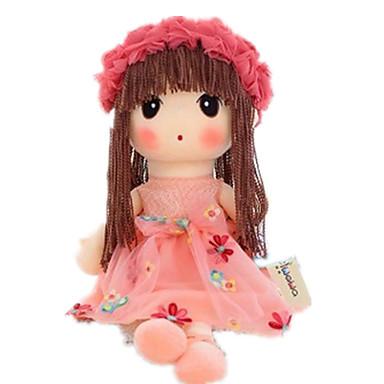 Βελούδινη κούκλα 14 inch Χαριτωμένο Ασφαλής για παιδιά Non Toxic Διασκέδαση Lovely Χειροποίητες βλεφαρίδες Παιδικά Κοριτσίστικα Παιχνίδια Δώρο