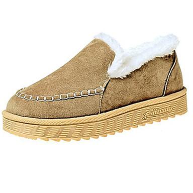 Mujer Zapatos Goma Invierno Confort Zapatos de taco bajo y Slip-On Dedo  redondo para Al aire libre Negro Gris Caqui 6375625 2018 –  19.99 bbae60f6f68ed