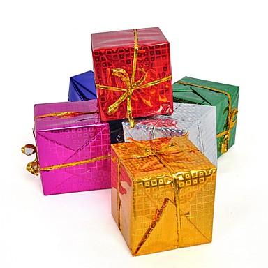 Χριστουγεννιάτικα δώρα Προμήθειες για Χριστουγεννιάτικο Πάρτι Διακοπών Άγιος Βασίλης Παιδικά Ενηλίκων Παιχνίδια Δώρο 6 pcs
