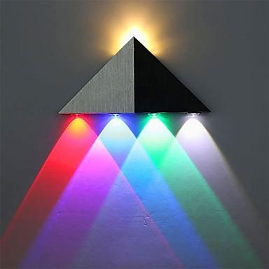 OYLYW Mini Style LED / Μοντέρνο / Σύγχρονο Λαμπτήρες τοίχου Σαλόνι / Είσοδος αλουμίνιο Wall Light 85-265 V 1 W / Ενσωματωμένο LED
