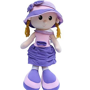 Κορίτσι κορίτσι Βελούδινη κούκλα Μωρά Κορίτσια 22 inch Χαριτωμένο Για παιδιά Μαλακό Ασφαλής για παιδιά Διακοσμητικό Non Toxic Παιδικά Κοριτσίστικα Παιχνίδια Δώρο / Μεγάλο Μέγεθος / Lovely