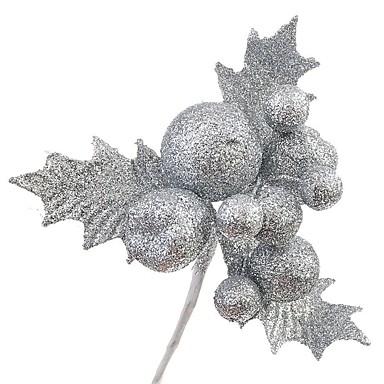 Decorações Natalinas Artigos para Celebrar o Natal Decorações de Árvore de Natal Férias Formato de Folha Ternos de Papai Noel Crianças Adulto Brinquedos Dom