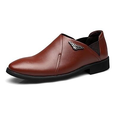 Hombre Zapatos Microfibra Verano Confort Sandalias Negro / Marrón / Marrón Claro 2q0b105wJb