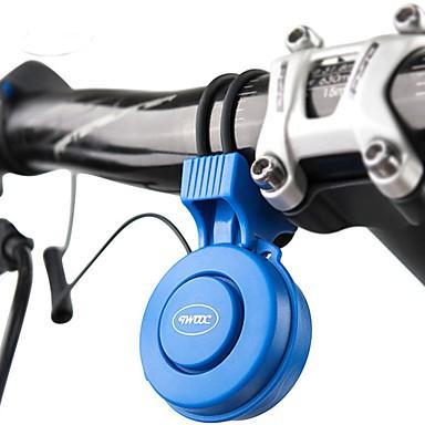 billige Sykkeltilbehør-Elektrisk sykkelhorn Nød Alarm 3 lydmoduser Verneutstyr til Vei Sykkel Fjellsykkel BMX TT Sykkel med fast gir Sykling Gummi PC ABS Svart Rød Blå 1 pcs