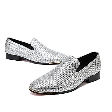 ราคาถูก Clearance-ador® men 's นวัตกรรมรองเท้าหนังฤดูใบไม้ร่วง / ฤดูหนาว oxfords ทอง / เงิน / แต่งงาน / ปาร์ตี้& ตอนเย็น